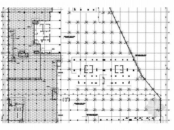 [江苏]地下三层框架结构全埋附建式地下车库结构施工图