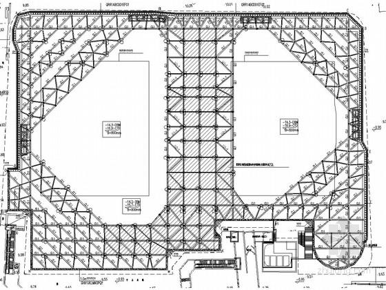 [江苏]垂直挡土结构+内支撑体系基坑支护施工图(新规范)
