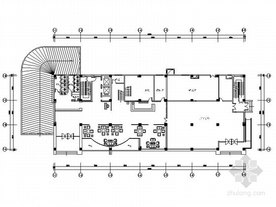 [南京]全国重点综合性历史博物馆办公综合楼装修施工图