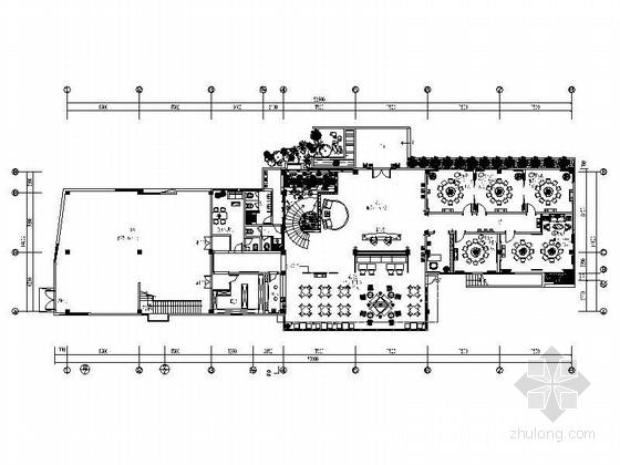 [苏州]生态度假村五星级主题温泉度假酒店装修施工图