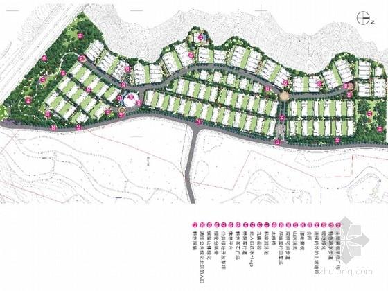 [杭州]现代简洁式山地居住区景观深化设计方案(知名设计机构)
