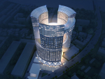 高层商业办公建筑3D模型下载