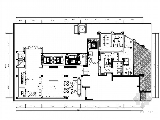[重庆]精品现代售楼中心室内装修设计图(含效果图)