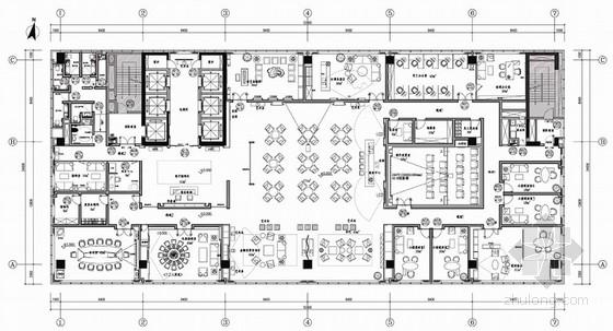 新中式风格私人金融中心会所室内设计方案