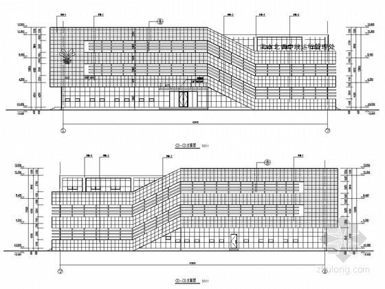 三层框架结构管理用房及砌体结构食堂水泵房结构图(含建筑图)