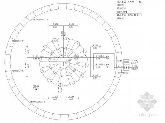 [浙江]景观水电设计给排水施工图纸