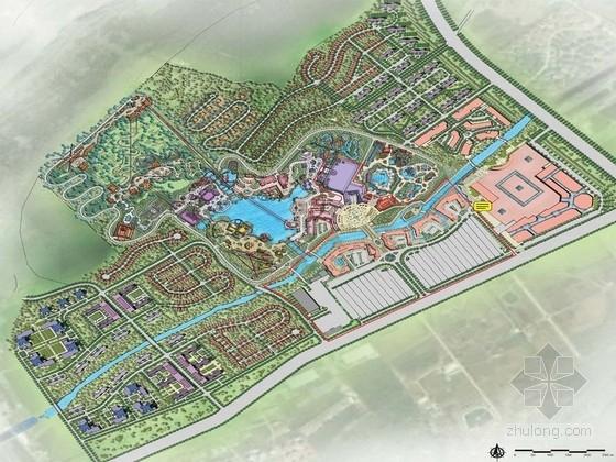 [徐州]多国文化主题游乐园景观设计方案