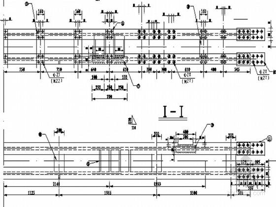 [贵州]轻型挂篮模板系统图纸14张
