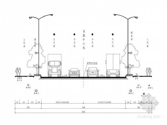 [重庆]1.2公里市政道路排水施工全套图纸