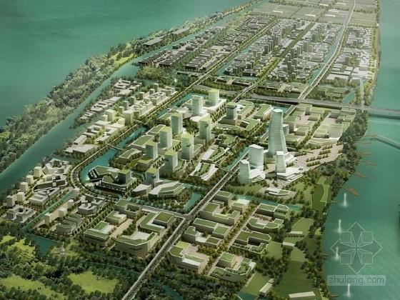 [南京]高科技生态型城市景观规划设计方案