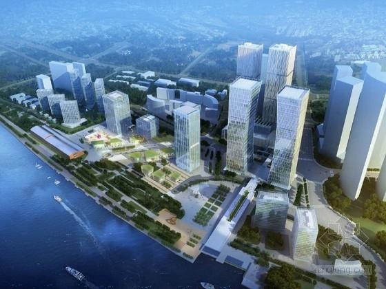 [上海]城市综合体规划及单体设计方案文本