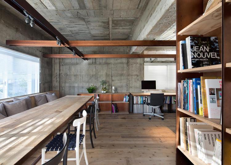 建筑师给自己设计的办公室,什么样的都有_15