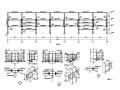 三层商业用钢框架施工图