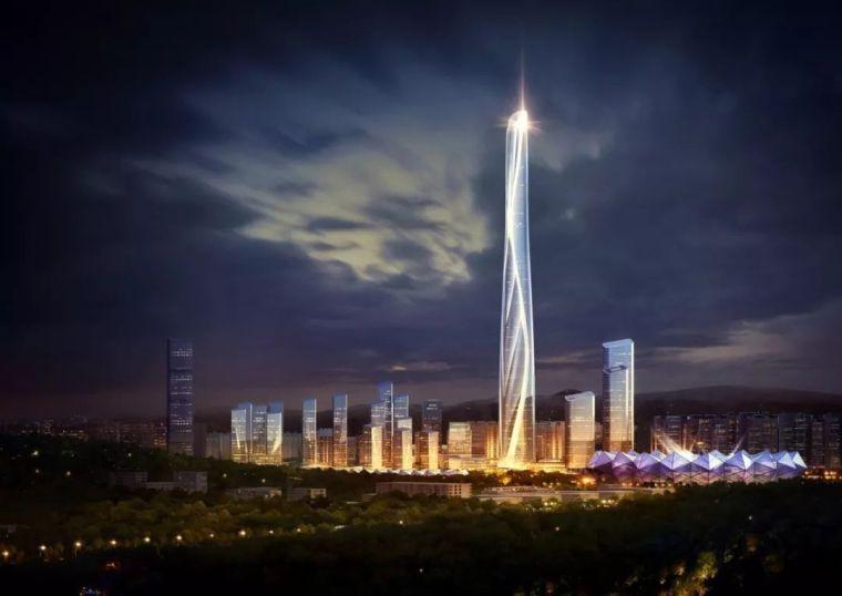 700米世茂深港国际中心方案公布