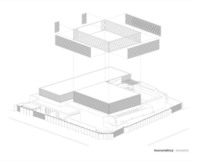 智利NBI社区里犹太教堂和社区中心的集合体-19