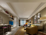 现代青年居室3D模型下载