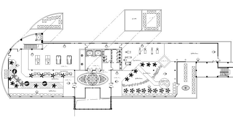 21套屋顶花园CAD施工图(15)