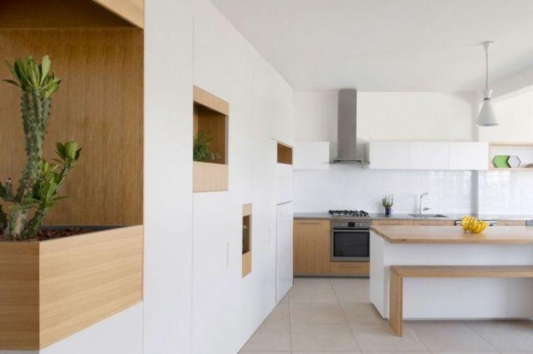 几何趣味80平纯净北欧风公寓设计_3