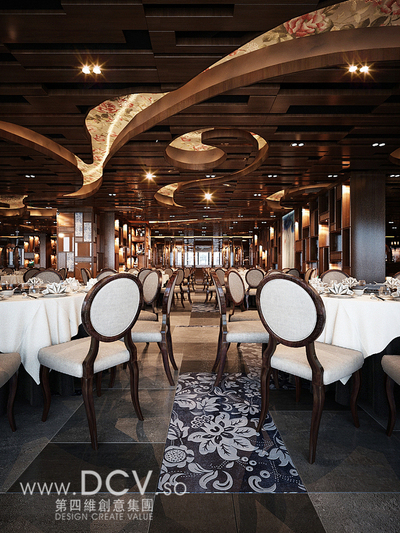 西安唯一的青花主题餐厅设计-太子轩-西安唯一的青花主题餐厅设计-太第1张图片