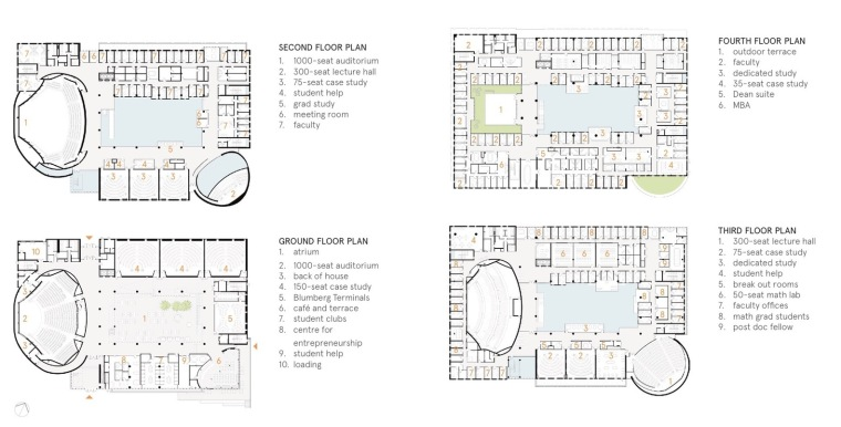 劳里埃大学拉扎里迪斯大楼平面图 (17)