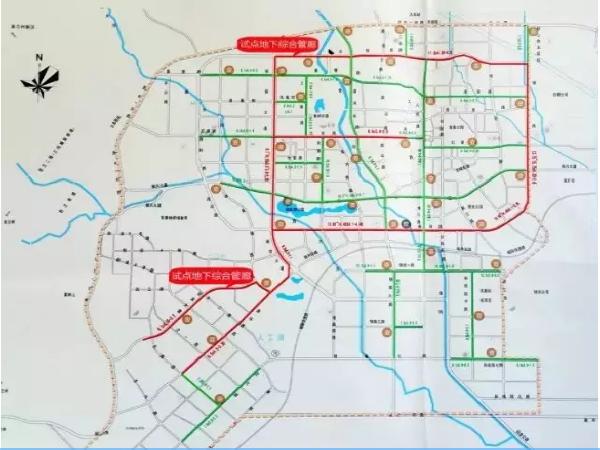 国家首批地下综合管廊试点项目-白银市管廊项目
