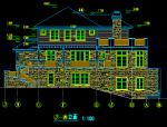 香格里拉千万级别墅建筑全套