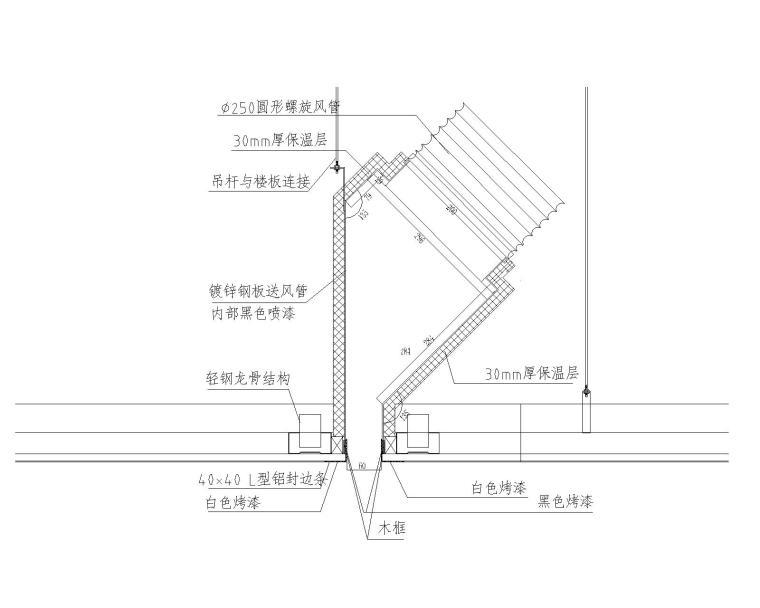 丝芙兰深圳壹方城暖通全套施工图纸