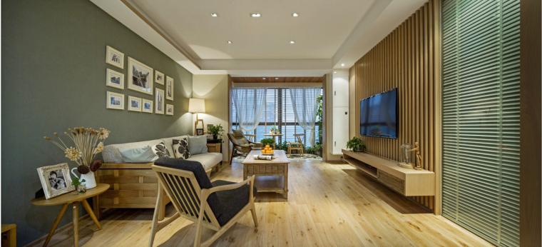 宁波木材质世贸湾公寓-2