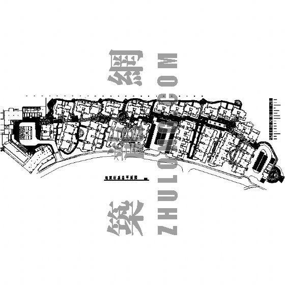园林景观工程施工图(成都万科城市花园)一