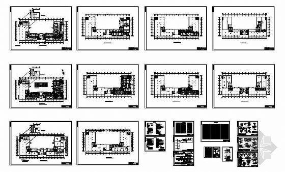 某厂房空调图纸资料下载-广州某科学城厂房空调图纸