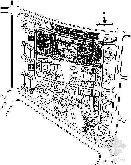 广州住宅小区景观全套施工图