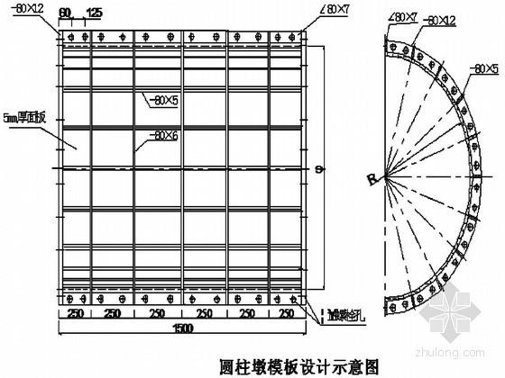[广东]桥梁分项工程专项施工方案(中铁隧 墩柱 系梁 盖梁)