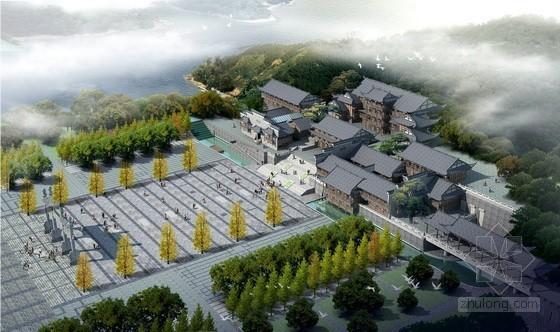 [重庆]某园博会主题馆建筑方案文本(含CAD)