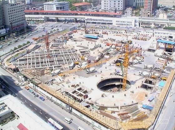 上海软土地基逆作法施工技术介绍(PPT)
