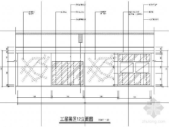 [辽宁]城市规划展示馆装饰设计图-图6