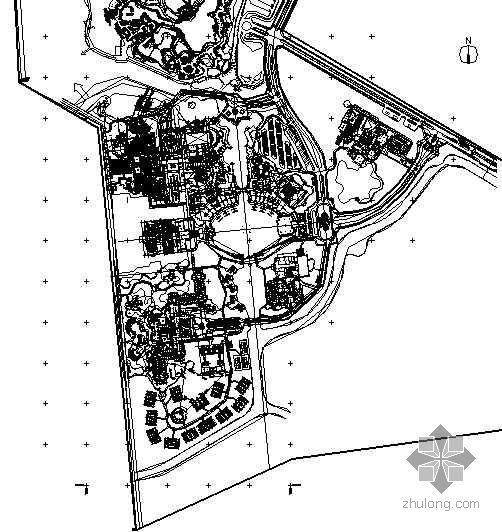[珠海]温泉酒店度假村景观设计施工图