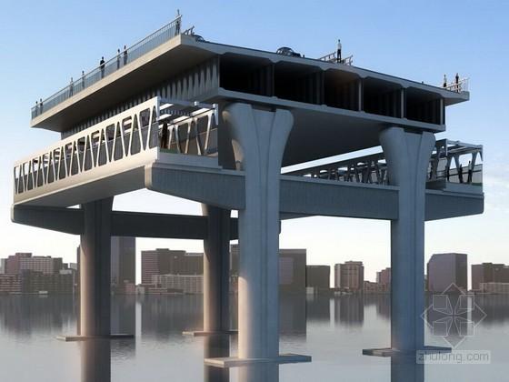 [江西]79+5×150+79m六塔单索面斜拉桥专项测量施工方案