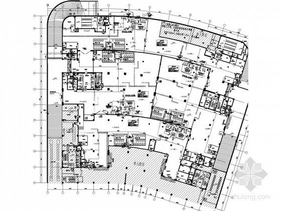 [江苏]办公建筑地下室给排水消防施工图