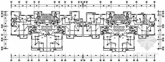 [石家庄]某34层大型商住楼完整电气施工图纸56张