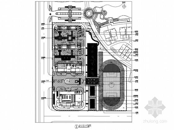 [武汉]某小学景观工程施工图集