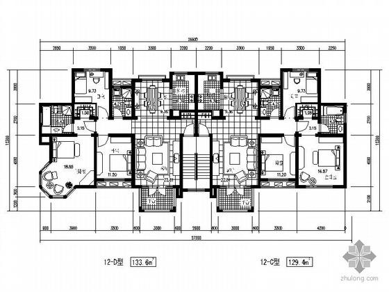 九十八个住宅平面户型方案