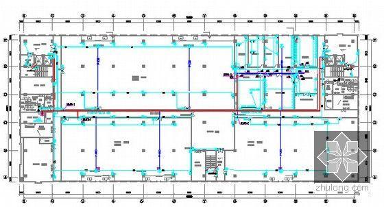 [广东]2015年科技园厂房楼装修工程预算书(附施工图纸)-三层配电平面图