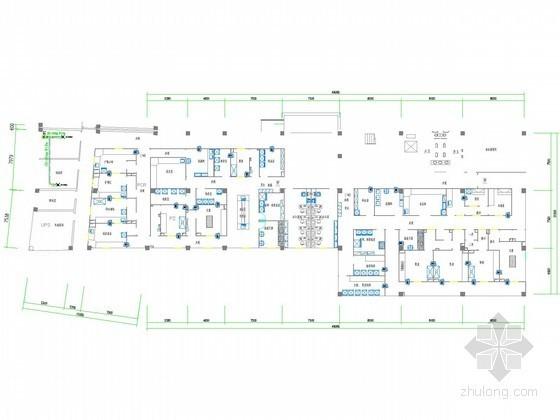 [山东]多层实验科研建筑空调通风系统设计施工图(净化空调)