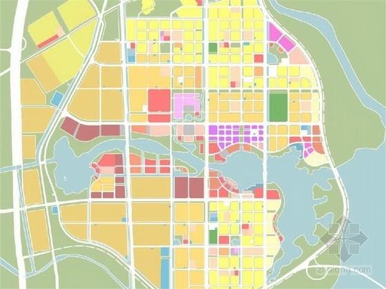 [青岛]滨水生态新城城市规划概念性规划设计方案