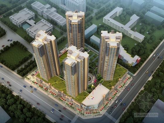 安置区住宅文本资料下载-[四川]现代风格超高层住宅安置区设计方案文本