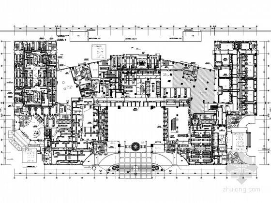 [东莞]高档酒店空调通风设计平面图