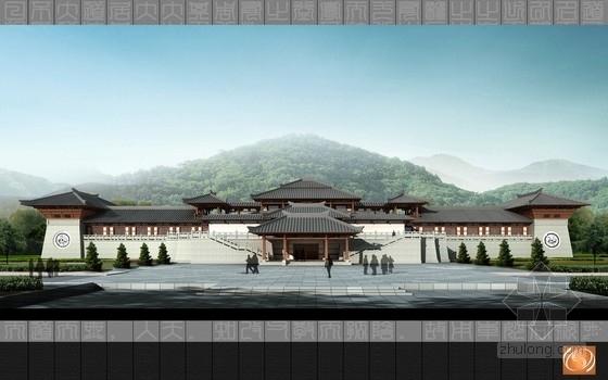 单檐庑殿式仿古建筑及结构全图