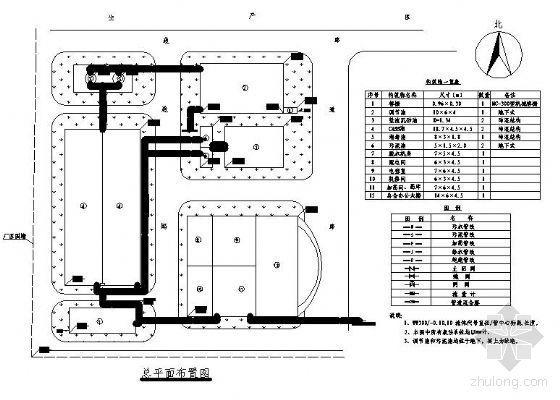 污水处理厂设计图纸(毕业设计)