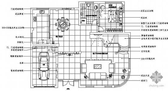 某别墅全套施工图纸