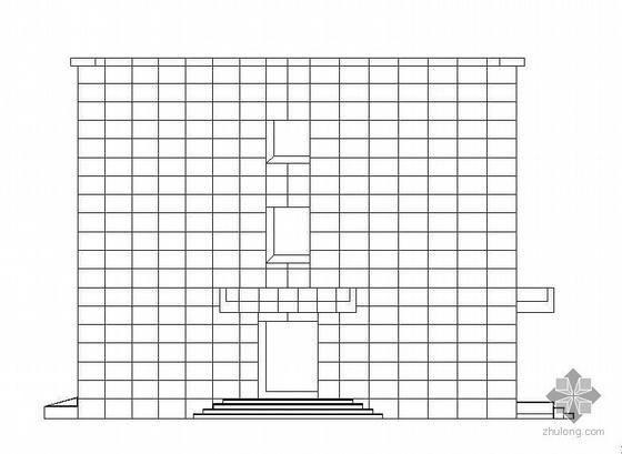 [山西]某医院附属办公楼及门房室外建筑装修施工图